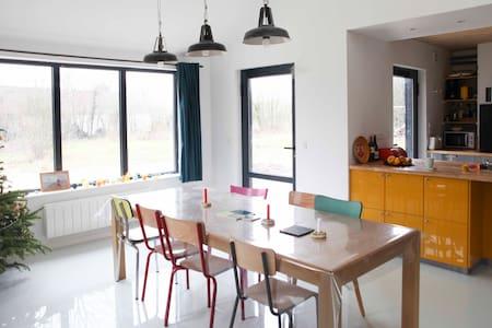 Belle maison en bois baie de Somme - Saint-Quentin-en-Tourmont - Casa