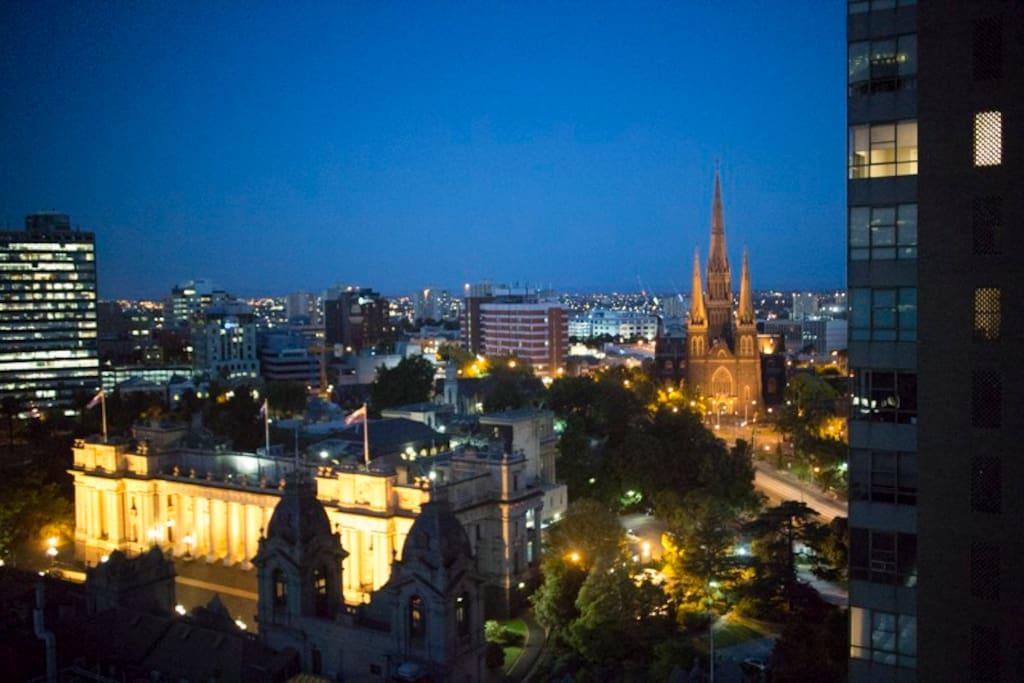 Spectacular Views at Night