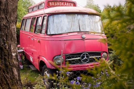 The Pink, Swedish Fire Truck  - Vestby