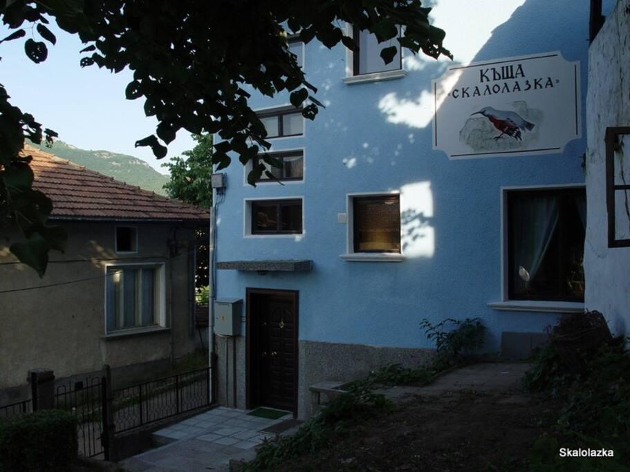 Skalolazka house