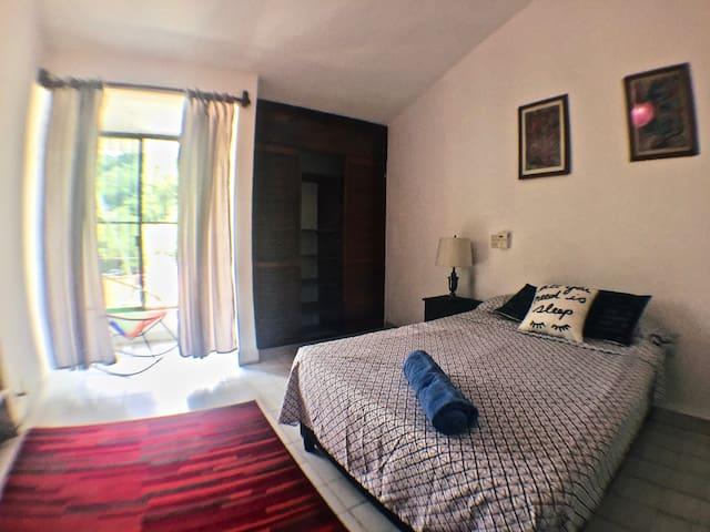 """Habitación / Room """"Maguey""""  A little paradise.🌴❤️🌊"""