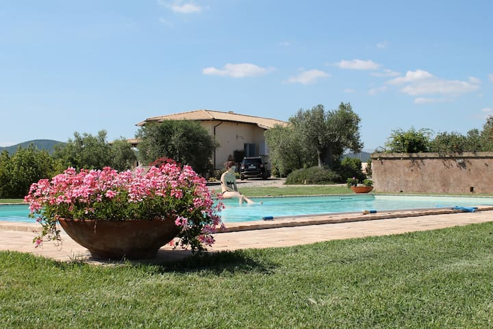 Villa Tuscany Capalbio Pool & sea