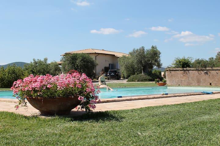 Villa Tuscany Capalbio Pool & sea - Montalto di Castro - Daire