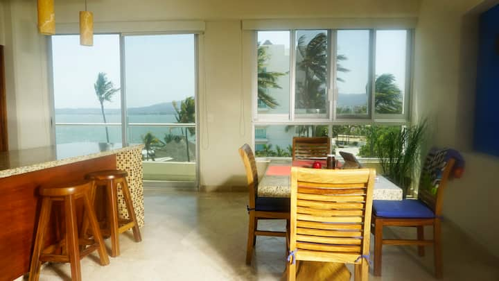 Condo Side Sea View Two Bedrooms, Parking, Level 3
