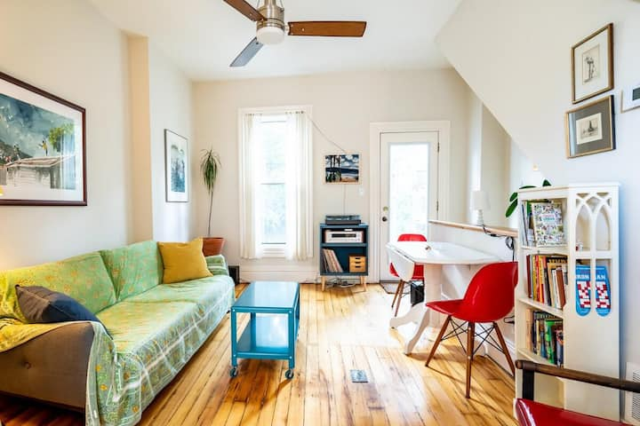 Charming Cabbagetown 1 Bd Townhome