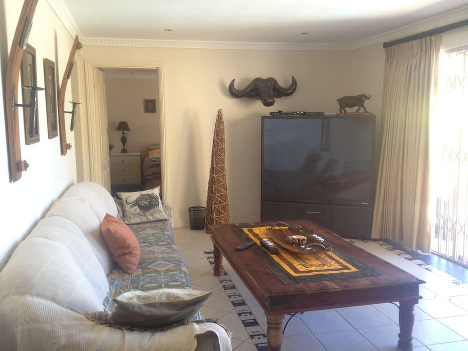 Buffallo suite living room.