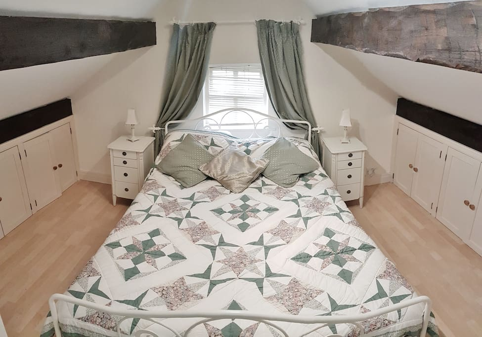 Bedroom - King-Sized Bed