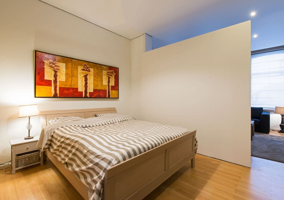 Bed room section