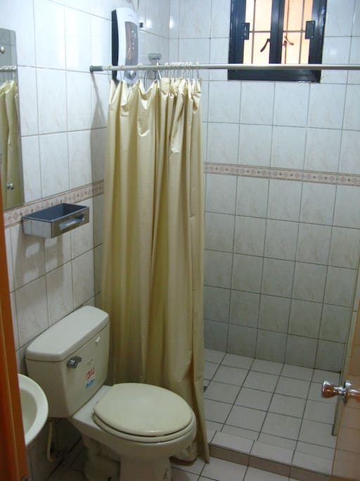Bathroom with Hot and Cold Shower