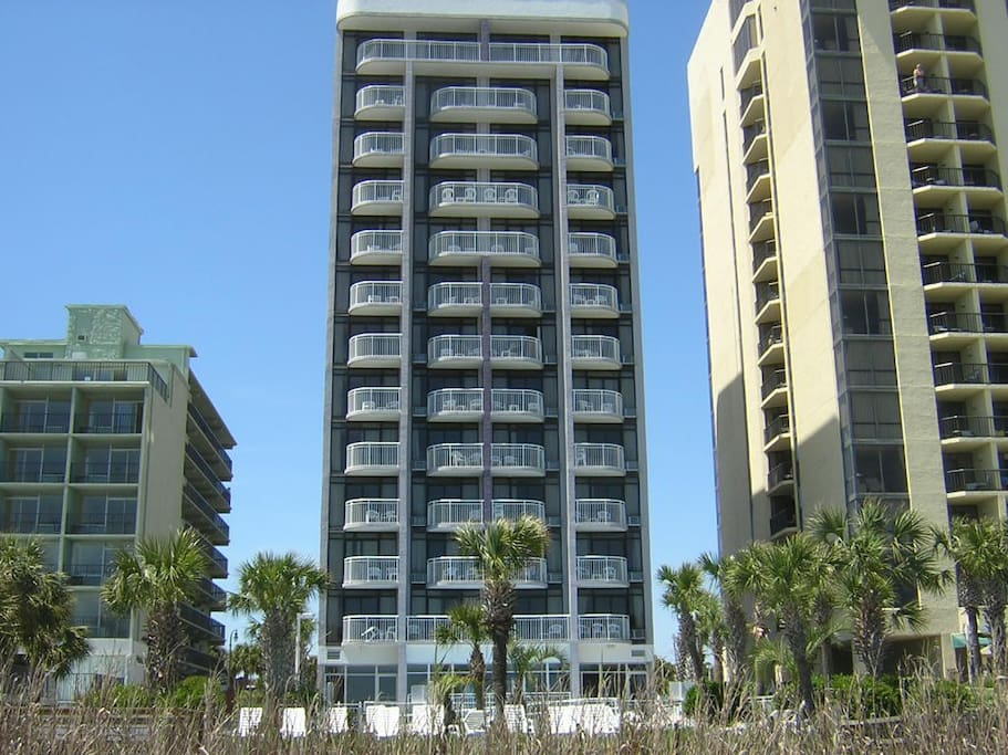 Ocean Front Building with Private Balcony