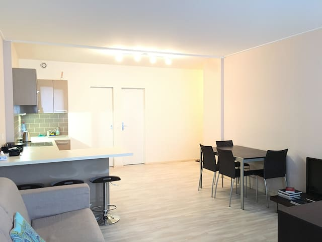 Modern Studio Apartment in Center of Geneva - Genebra - Apartamento