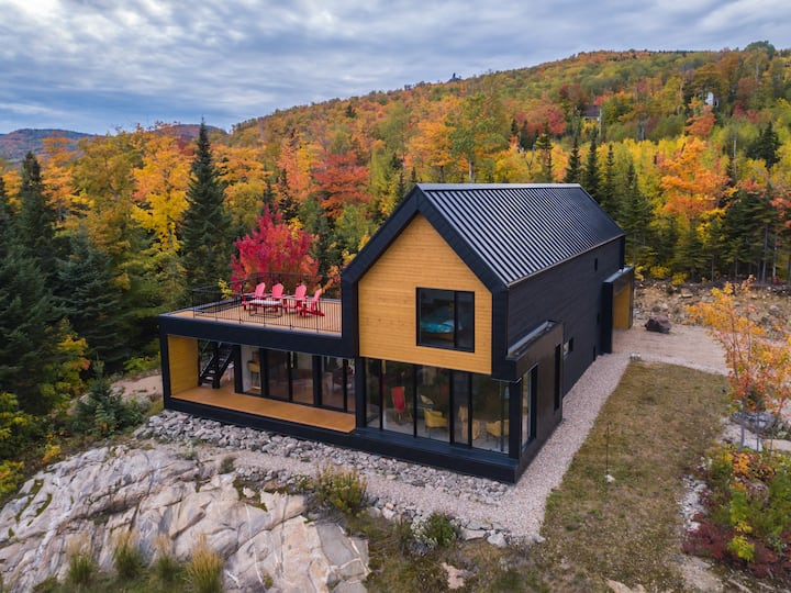 Modern cottage near Le Massif