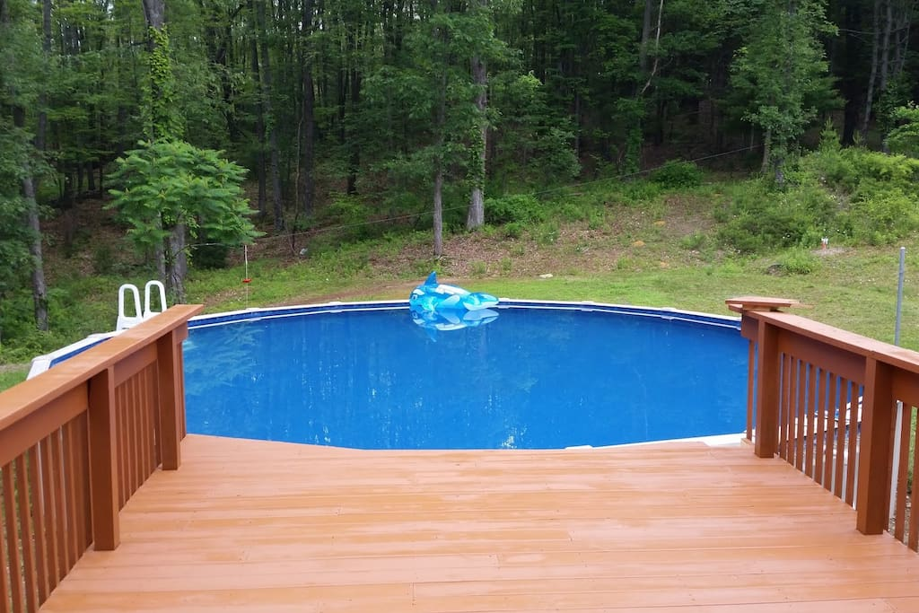 Our Pool Open From July 4- September 15
