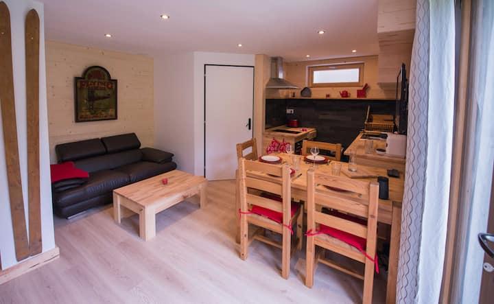 Appartement de charme proche du lac d'Annecy