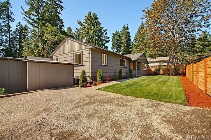 Cozy Home Near Seattle - Shoreline - House