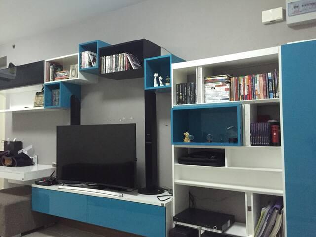A cozy room 1min to BTS skytrain