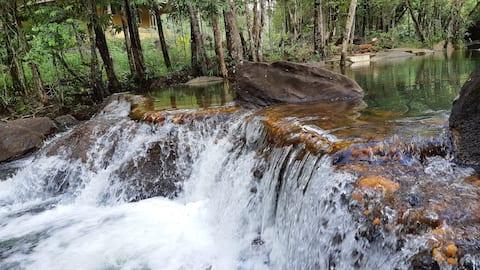 Eco Bungalow , Natural Swiming Pool & Waterfall