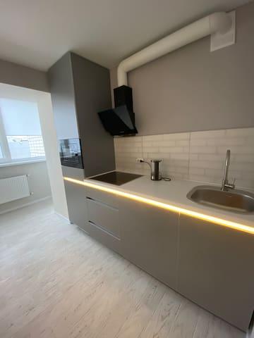 Идеально чистые и новые апартаменты!