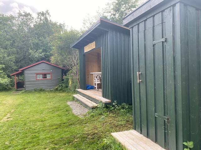 Melhus Jagtøyen- Søndre, hytte ved Gaula