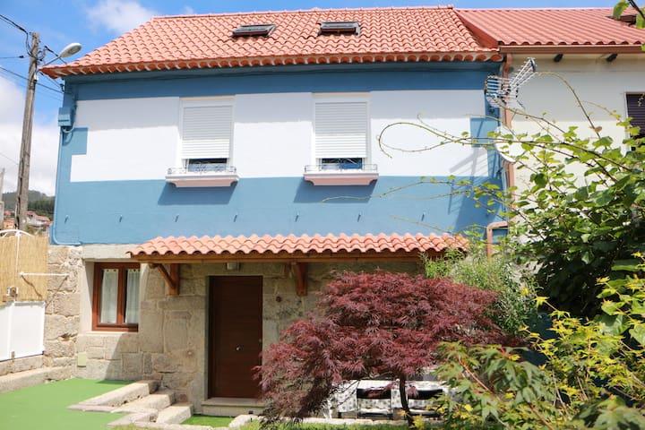 Casa con vistas en Moaña, Rías Baixas