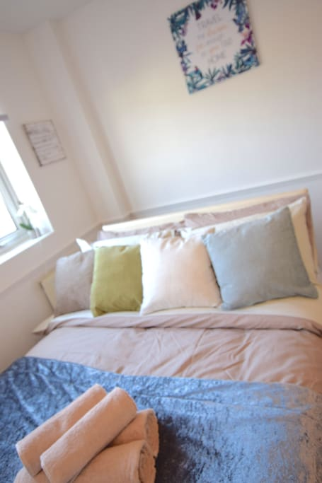 Double bedroom with plenty of natural light 2