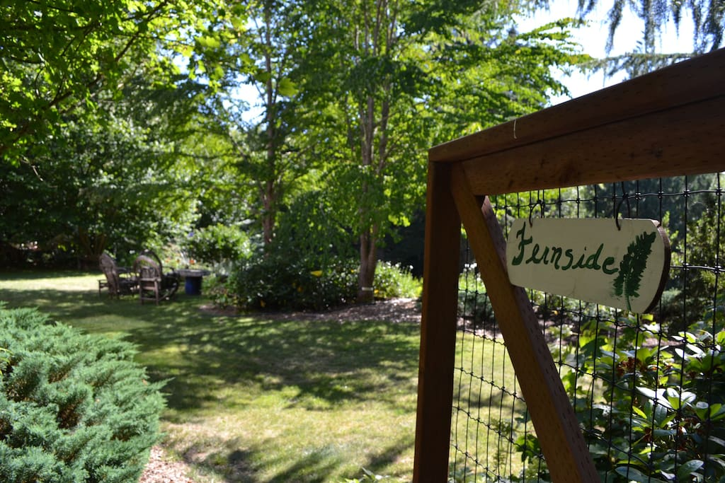 """""""Fernside was a beautiful place to stay!""""  ~  David"""