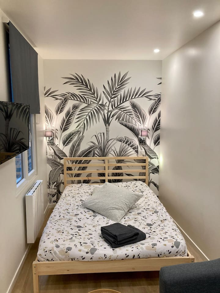 Studio «Palm» cosy - cœur de ville