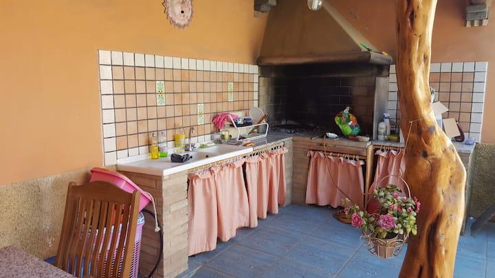 Appartamento provenzale con giardino IUN P5495