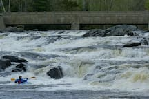 PLAYBOATING - If you're a kayaker, and you come during spring runoff, this is the kind of fun you can expect.