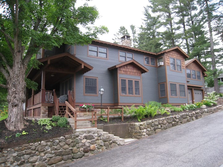SHORE CREST, Lake Placid Downtown Luxury Residence