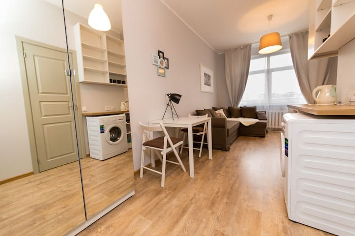 Vilnius center apartment, Autumn - Vilna
