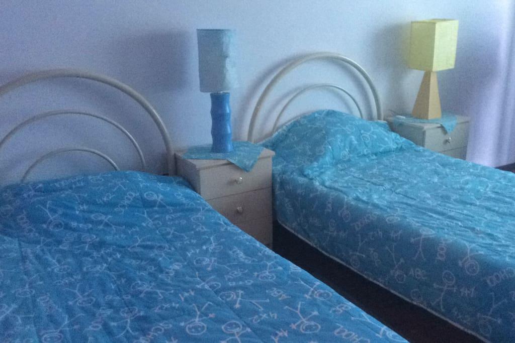 Quarto Pink Blue - 2 camas