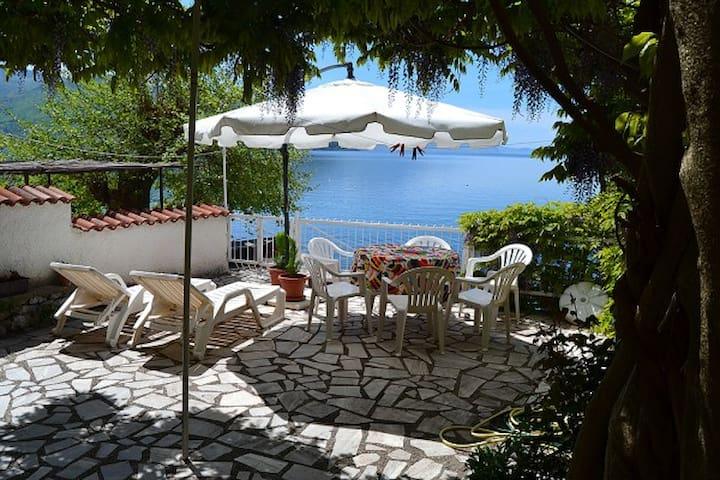 Villa Ellza on shore of Lake Ohrid - Ohrid - Vila