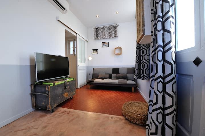 Villa du Roc Fleuri CANNES: suite 1 triple