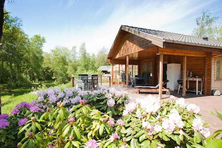 Nice Cottage at Skjern Aa - Kibaek - Lombház