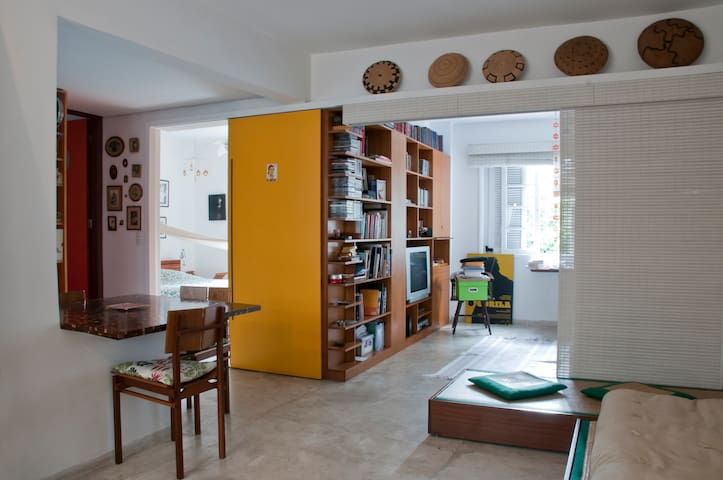 Modern Comfortable Charmer Apt inSP - São Paulo - Appartement