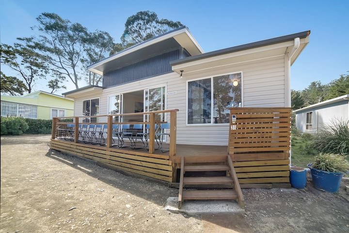 Bruny Island  Beachside -  family friendly stay