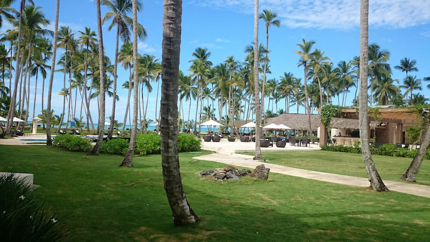 Beach Front / Tropical Chic 2BR/2B - Las Terrenas - Appartement