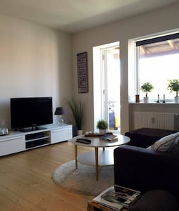 Cozy and modern apartment just outside Odense C - Odense - Pis