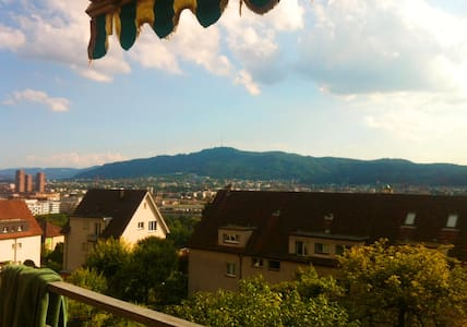 A Bright and Beautiful  Double Room in Zurich - Zürih