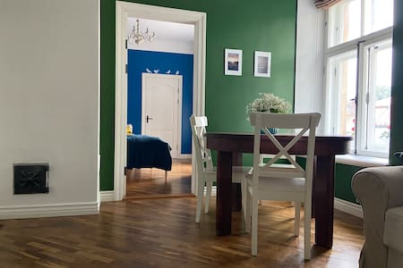 An apartment in a former Hotel of Cesis Castle