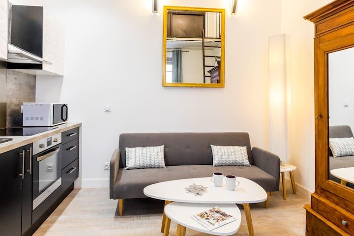 DUPLEX AU PIED DES REMPARTS MARMANDE CENTRE VILLE - Marmande - Apartment