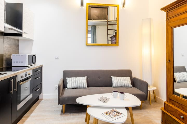 DUPLEX AU PIED DES REMPARTS MARMANDE CENTRE VILLE - Marmande - Apartamento