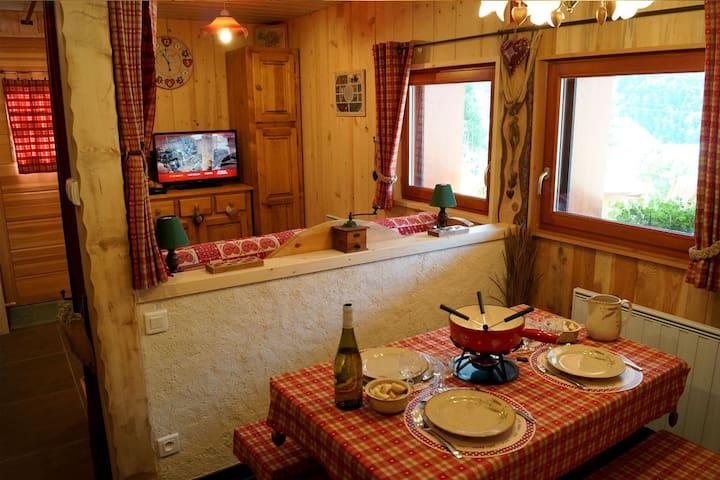 Gîte la montagne - Avrieux - Wohnung