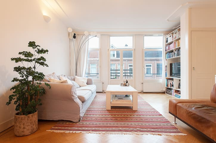 Sunny Spacious 85m2 + roof terrace! - Amsterdam - Apartment