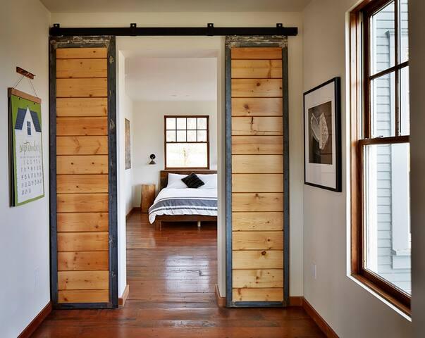Bedroom #2 downstairs (2 Queen beds).