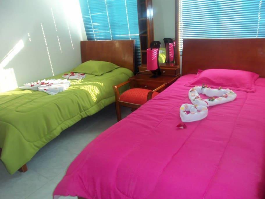 Dormitorio  acomodación doble