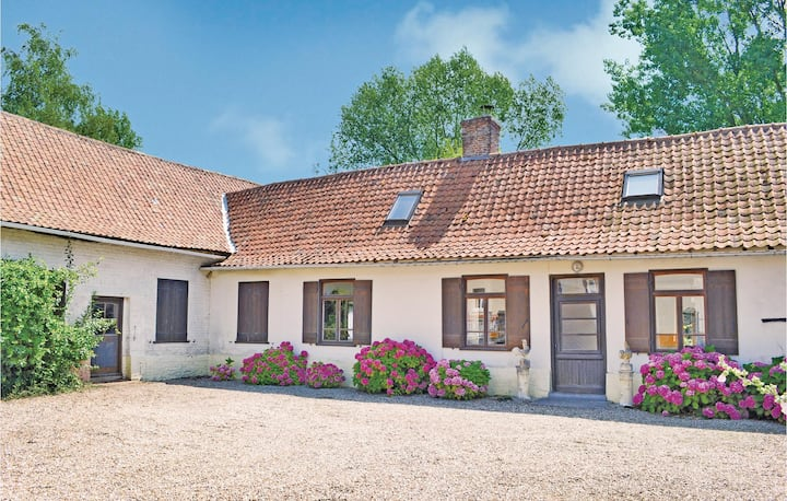 Stunning home in Marles sur Canche with 4 Bedrooms and WiFi