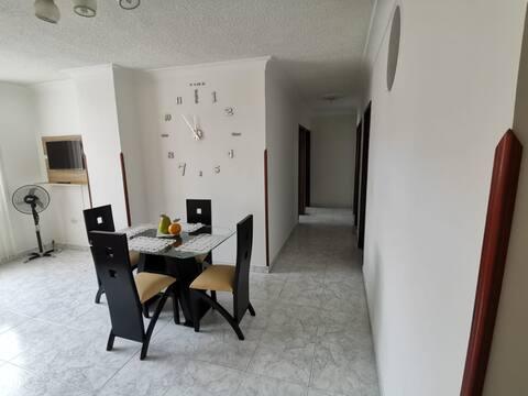 Apartamento totalmente amoblado