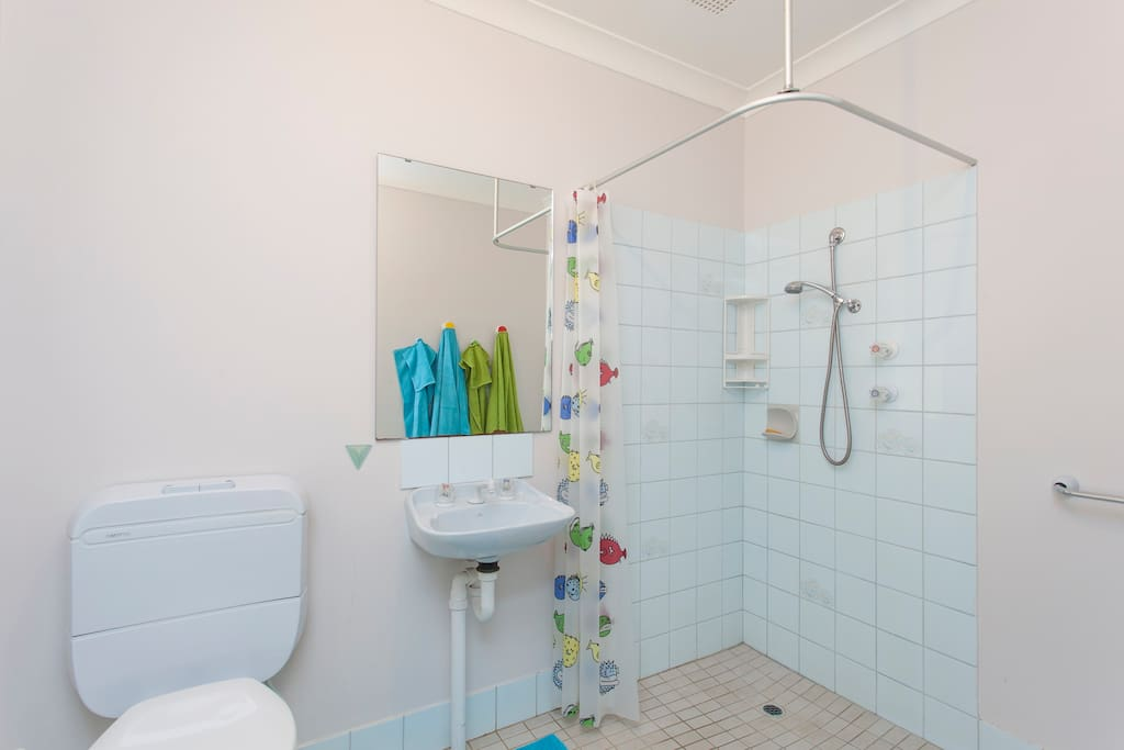 Your own bathroom with shower & toilet
